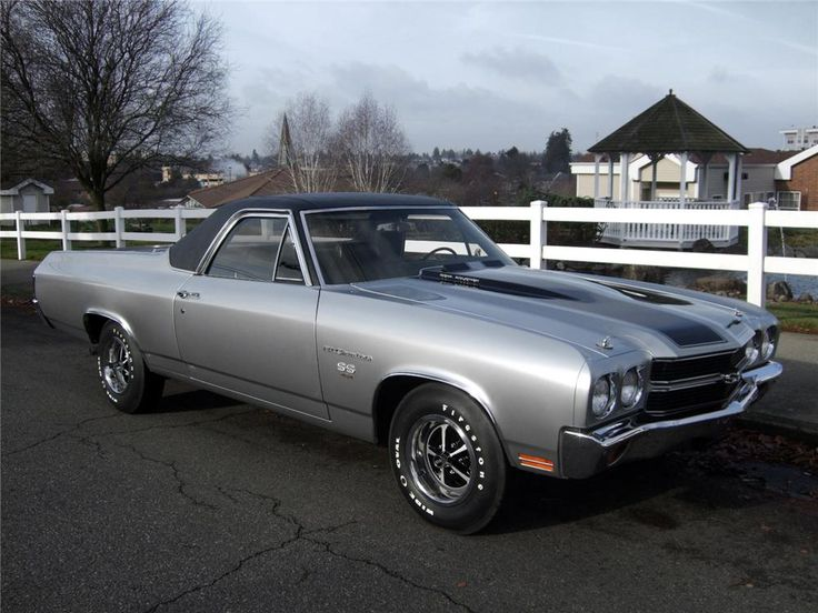 70 Chevy El Camino (This one just sold for 121K!)