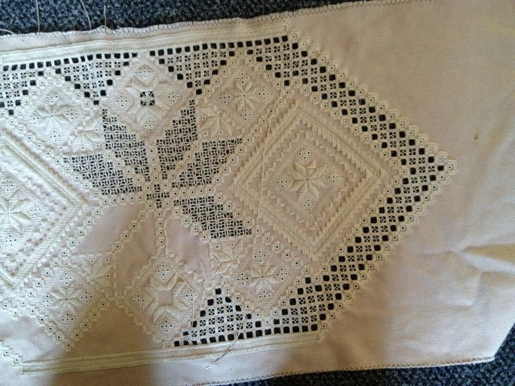 My table runner design in progress