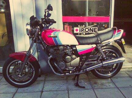#restored #YAMAHA #XJ400, 1978 model https://www.facebook.com/biketherapypatras and http://www.biketherapypatras.gr/