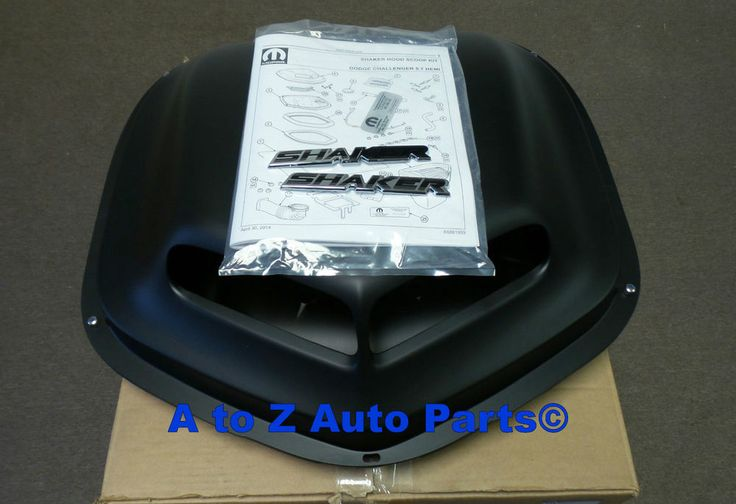 Now 2011-2014 Dodge Challenger R/T 5.7 Hemi owners can install the very popular Shaker hood option to their ride! | eBay!