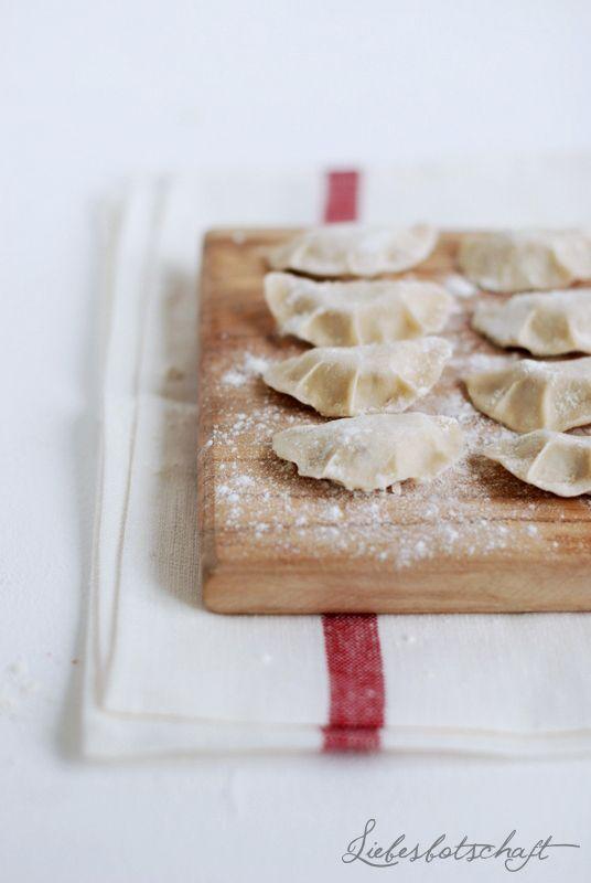 ... pierogi (polish dumplings) ...