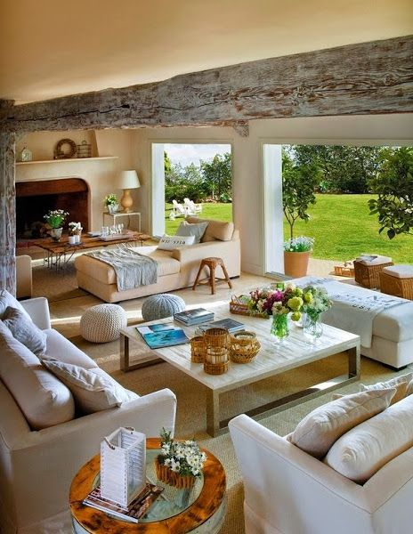 like the sitting room to garden
