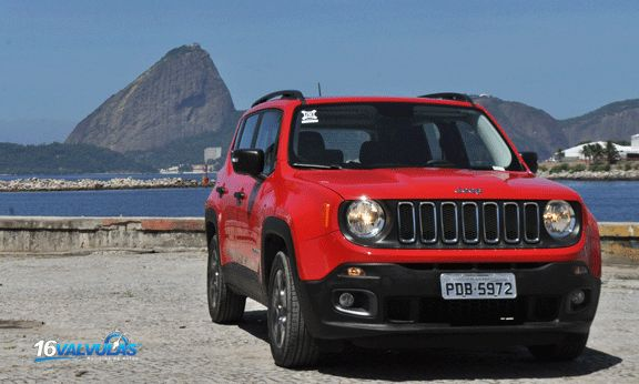 Probamos en Brasil el #Jeep #Renegade 1.8 Manual que vendrá a la Argentina #16Valvulas