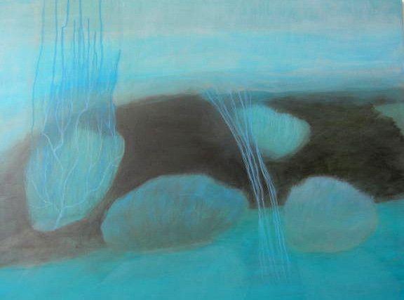 Lovely Acrylic Painting by Paula Payne – PLATFORMstore