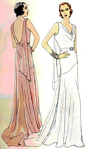 1930's glam: 1930S Glamour, Dresses Style, 1930S Evening Gowns, 1930S Fashion, 1930S Style Bridesmaid Dresses, Google Search, Art Deco Fashion, 1930 S, Art Deco Dresses