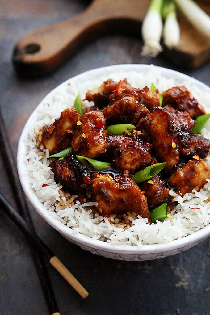 Better than takeout CROCKPOT General Tso's Chicken!