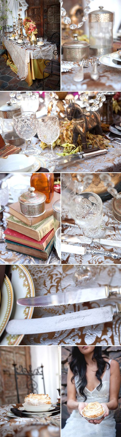 Old World European Elegant Wedding Decor Ideas