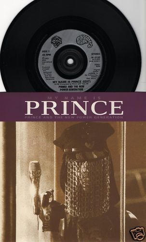 "PRINCE My Name Is Prince 1992 Uk Issue 7"" 45 rpm Vinyl Single record pop dance hip hop 90s music purple rain W0132 Free Shipping"