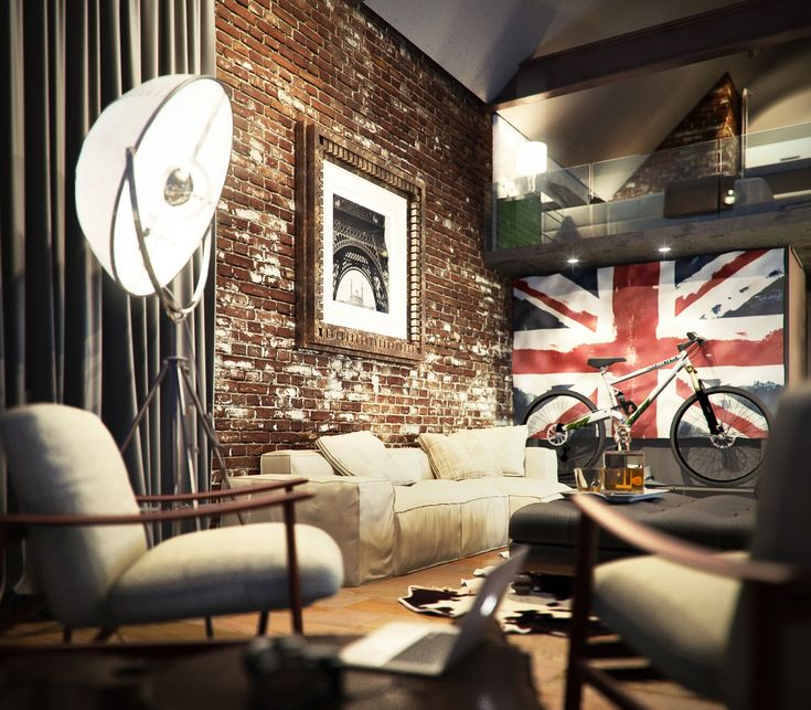 25 Best Ideas About Boys Industrial Bedroom On Pinterest: 17 Best Ideas About Red Brick Walls On Pinterest