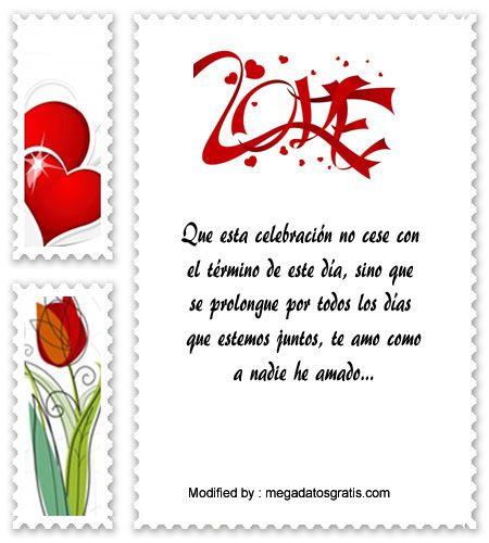 dedicatorias de aniversario de novios,descargar frases bonitas de aniversario de novios: http://www.megadatosgratis.com/carta-de-amor-por-aniversario/