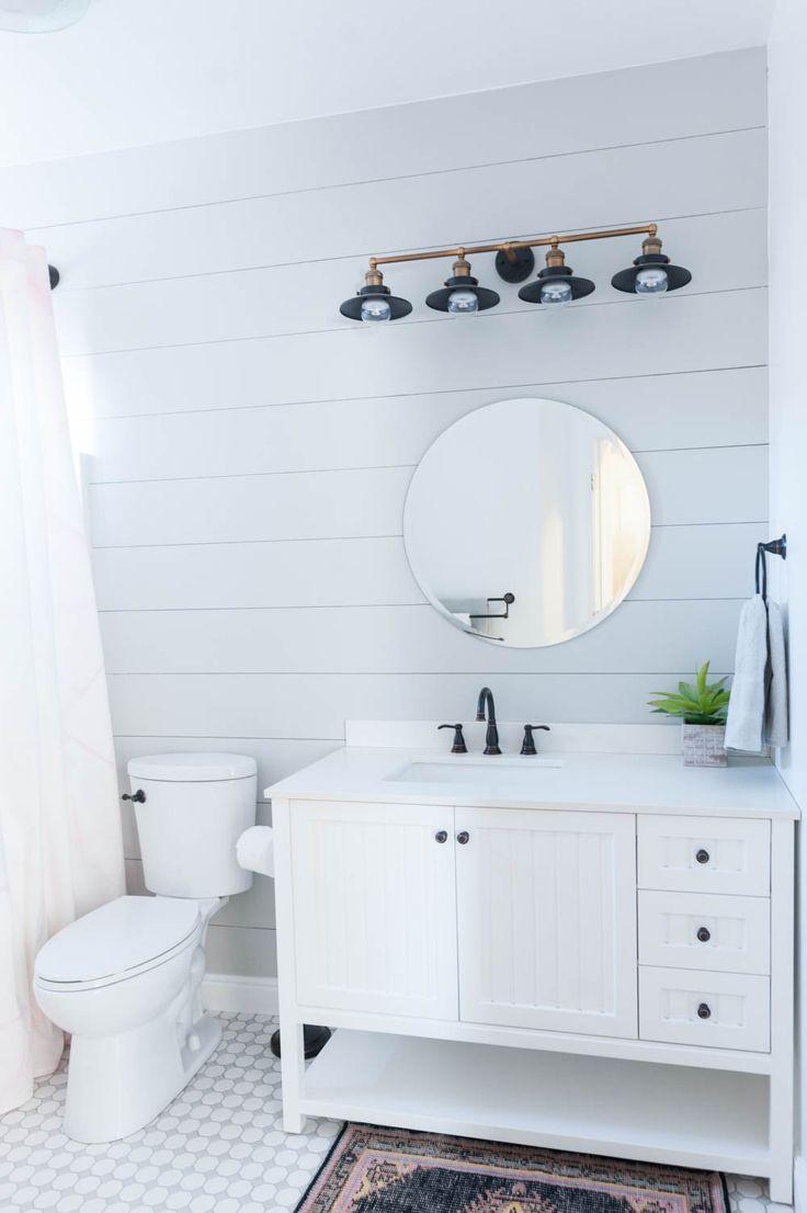 Gorgeous Grey and White Bathroom Renovation
