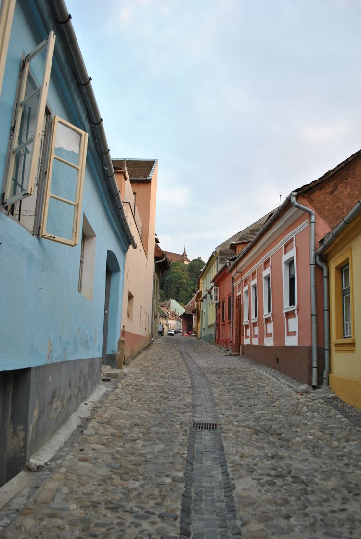 Streets of Sighisoara
