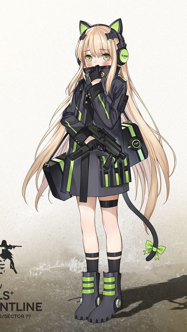 tmp girls frontline anime girl pinterest girls frontline
