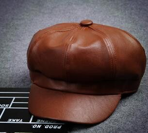 Item Type: Berets Pattern Type: Solid Department Name: Adult Brand Name: ywnovel Style: Casual Gender: Women Material: Leather Model Number: 1438 is_customized: Yes Estimated Delivery Time: 15-26 days