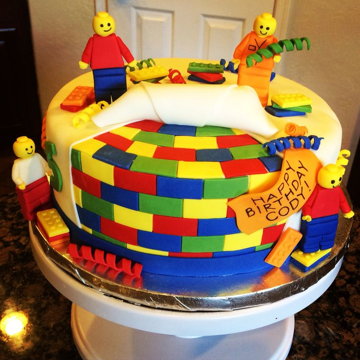 Legos Birthday Cake!