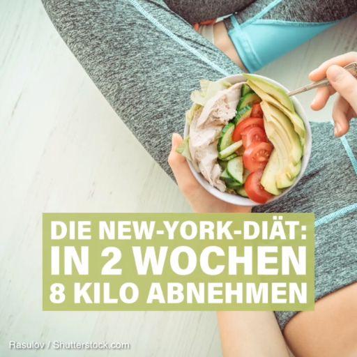 Die New-York-Diät: 8 Kilo in 2 Wochen