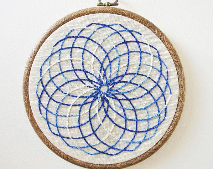 Mandala Embroidery Hoop Art/ Home Decor