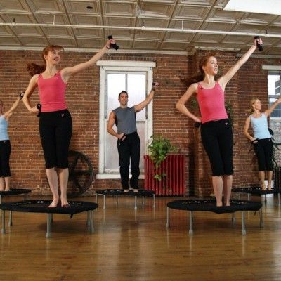 Rebound Your Way to Healthy: Trampoline Routine