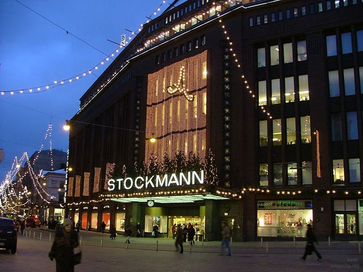 Does it even need an introduction? Stockmann is the largest department store not only in Helsinki, but in all the Nordic countries and offers a variety of services from shopping to cafés and restaurants. A true Helsinki icon.