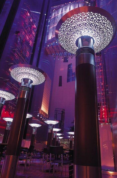 Interior of Fairmont Hotel in Dubai | Incredible Pictures