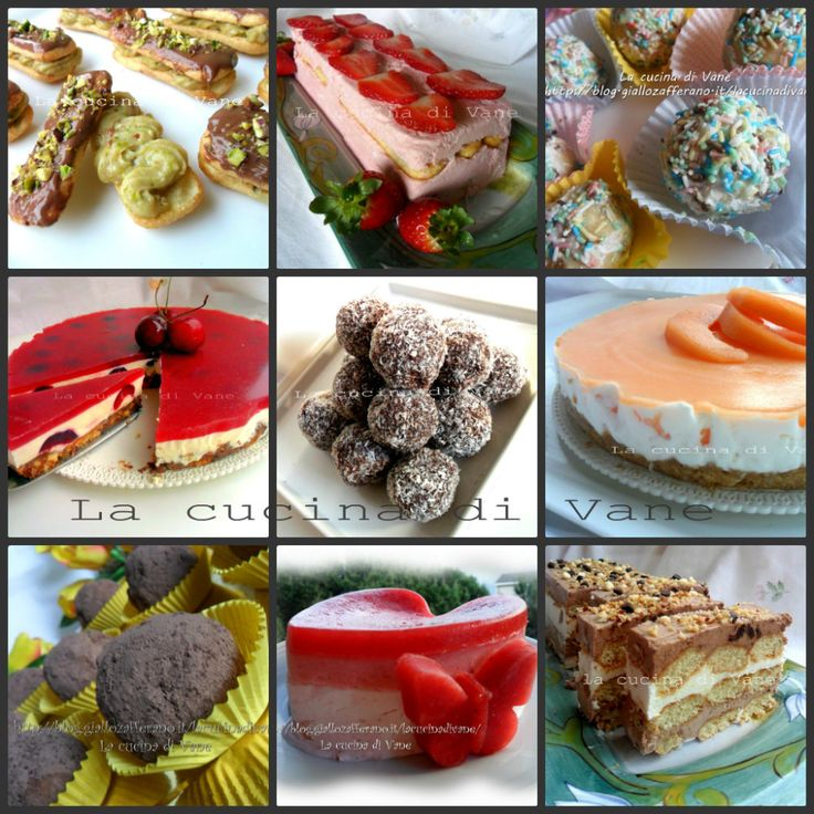 Ricette per dolci senza cottura | ricette per dolci estivi