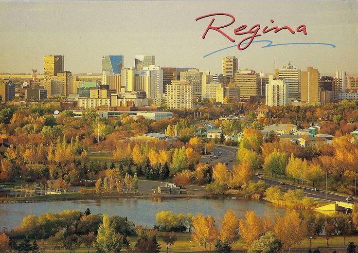 Travels with postcards around the world: REGINA