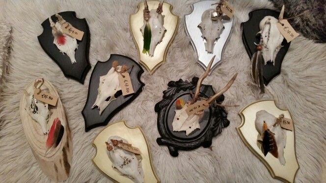 Verschillende soorten en maten#skulls #kerst