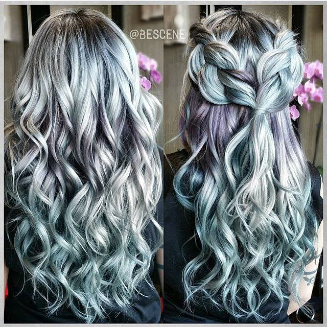 Metallic obsession by @bescene hair by @tokyostylez braid ...