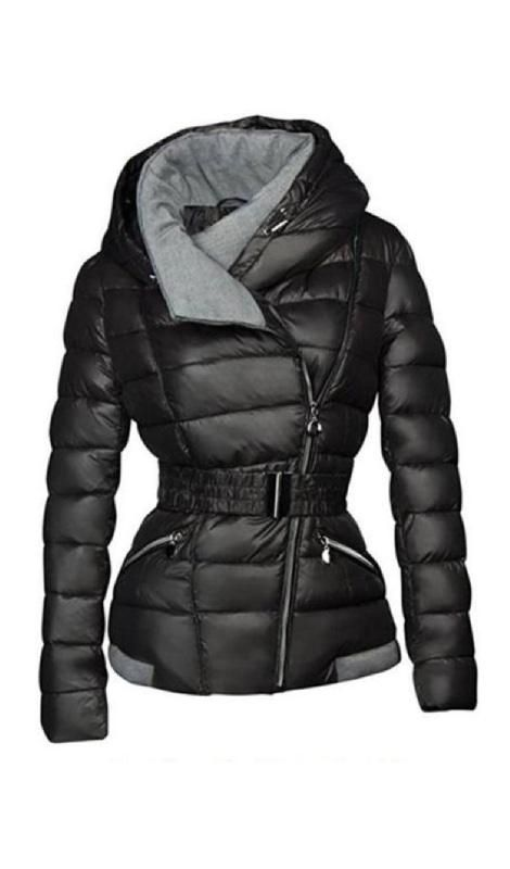 ad4356e0c3ceb7 Upper East Side Belted Coat - Black in 2019 | Fashion | Winter coats ...