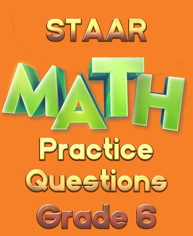 Get your 6th graders ready for the STAAR Math section with these free STAAR math practice questions!  #staar #staarmath