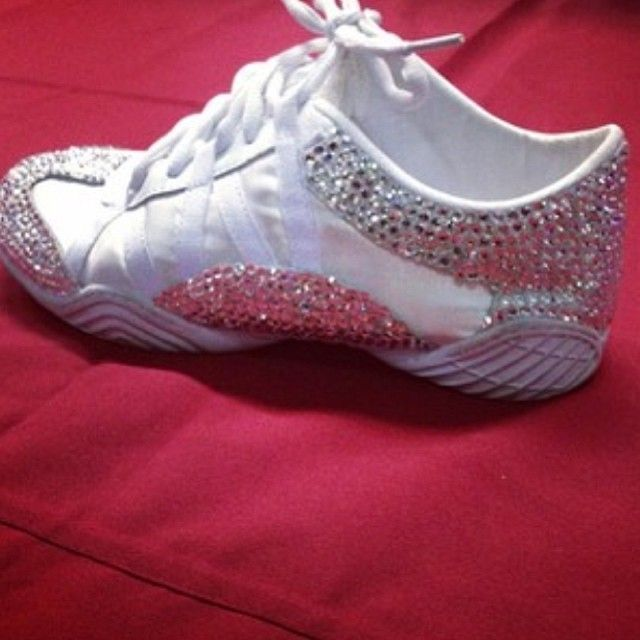 They are so pretty! #Nfinity #Evolution #CheerShoes