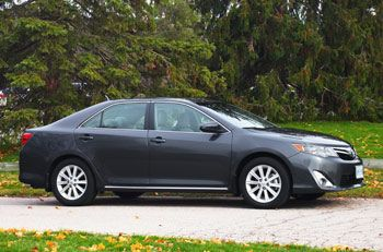 Toyota Camry 2012-2014 expert review