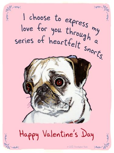 hipster cards free ecard some pug love free online ecard from hipster cards