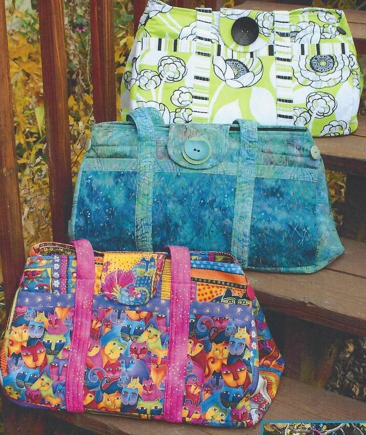 1000+ images about Quilted bag patterns on Pinterest
