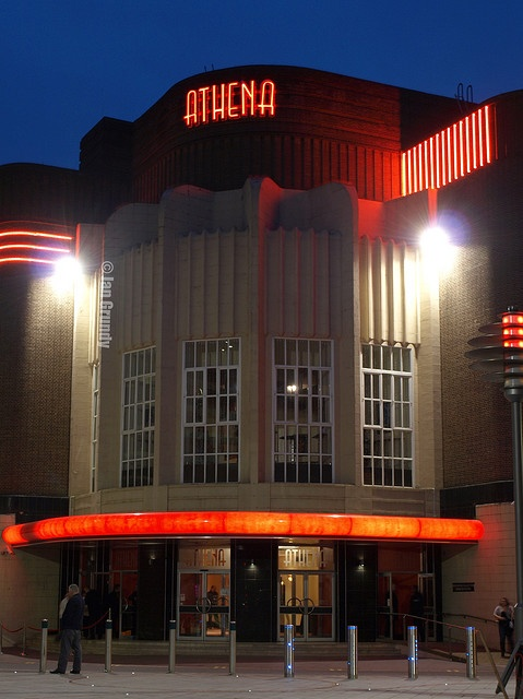 Athena Theatre Leicester (formerly the Odeon cinema)