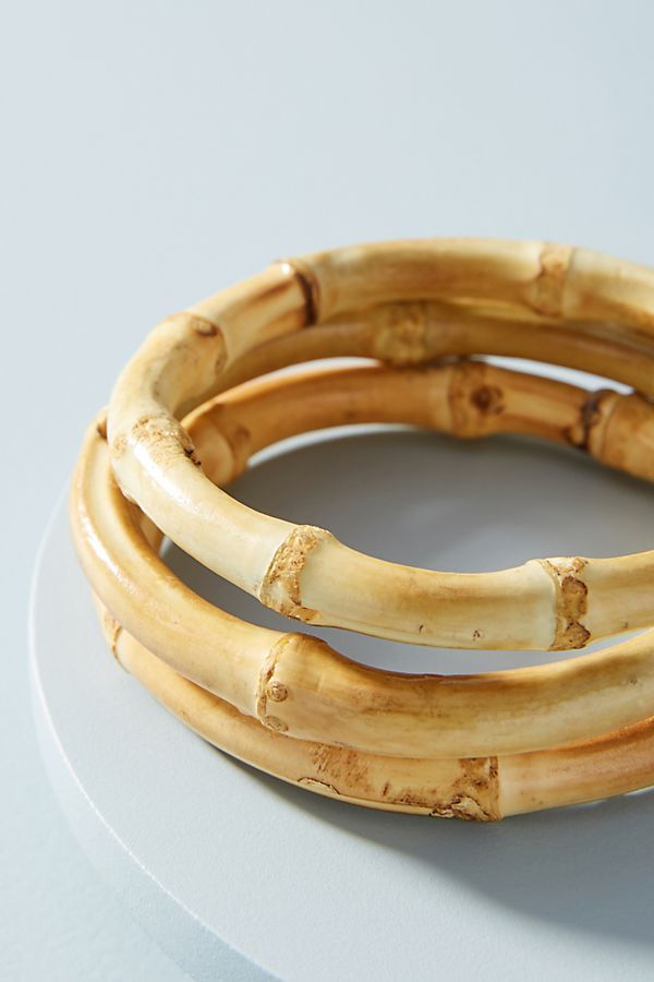 Bamboo Bangle Bracelet Set Bangle Bracelet Set Diy Bangle