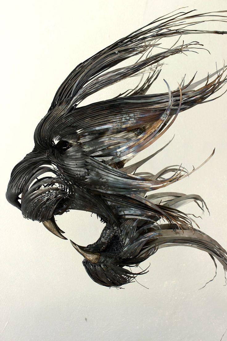Sculptures de métal incroyables
