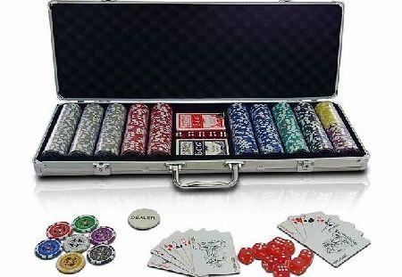 Jago Infantastic PC500-Ultimate Poker Set including 2 Playing Cards Decks, 500 quality Poker Chips ,Deale No description (Barcode EAN = 4250787414453). http://www.comparestoreprices.co.uk/poker-sets/jago-infantastic-pc500-ultimate-poker-set-including-2-playing-cards-decks-500-quality-poker-chips-deale.asp