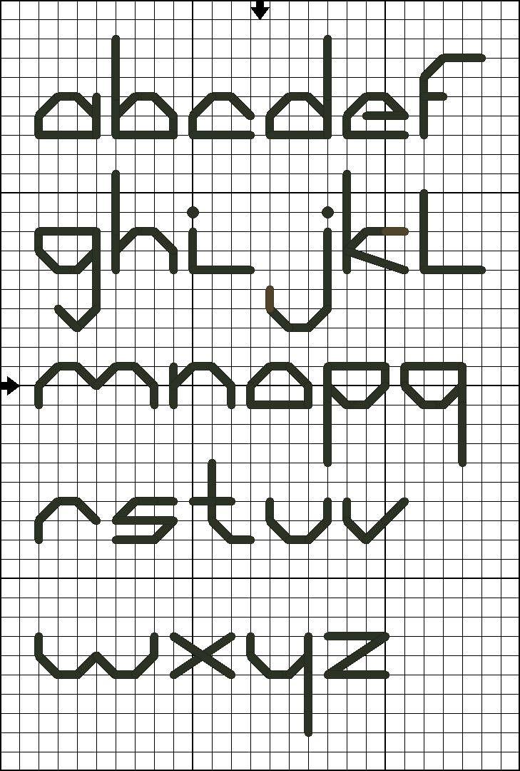 84 Best Images About Cross Stitch Backstitch Alphabets