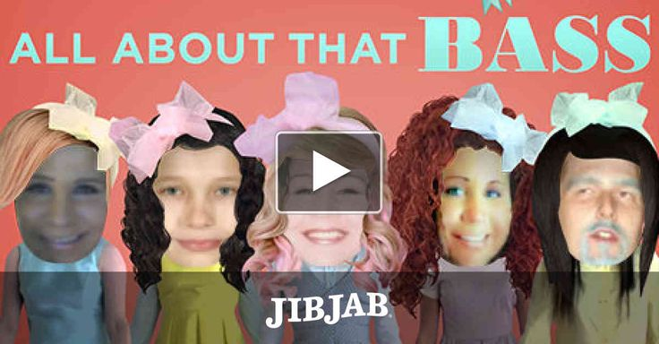 """Big laughs are no treble at all when you cast five in Meghan Trainor's superhit """"All About That Bass!"""""""