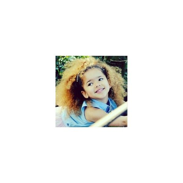 Easy and Cute Hairstyles for Curly Hair for Kids 2014 ❤ liked on Polyvore featuring hair and kids
