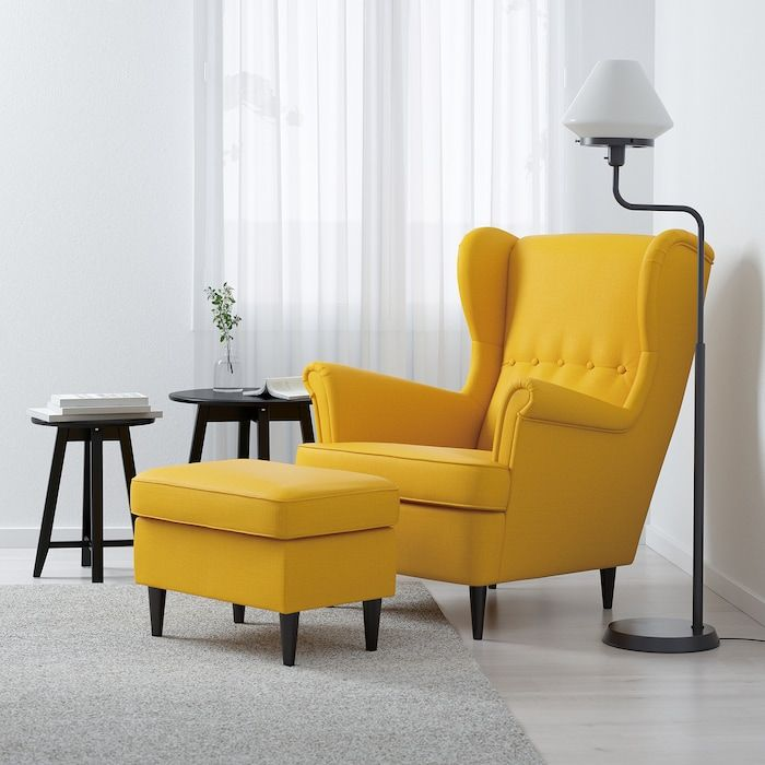 Strandmon Ohrensessel Skiftebo Gelb Ikea Osterreich Ikea Strandmon Wing Chair Yellow Chair