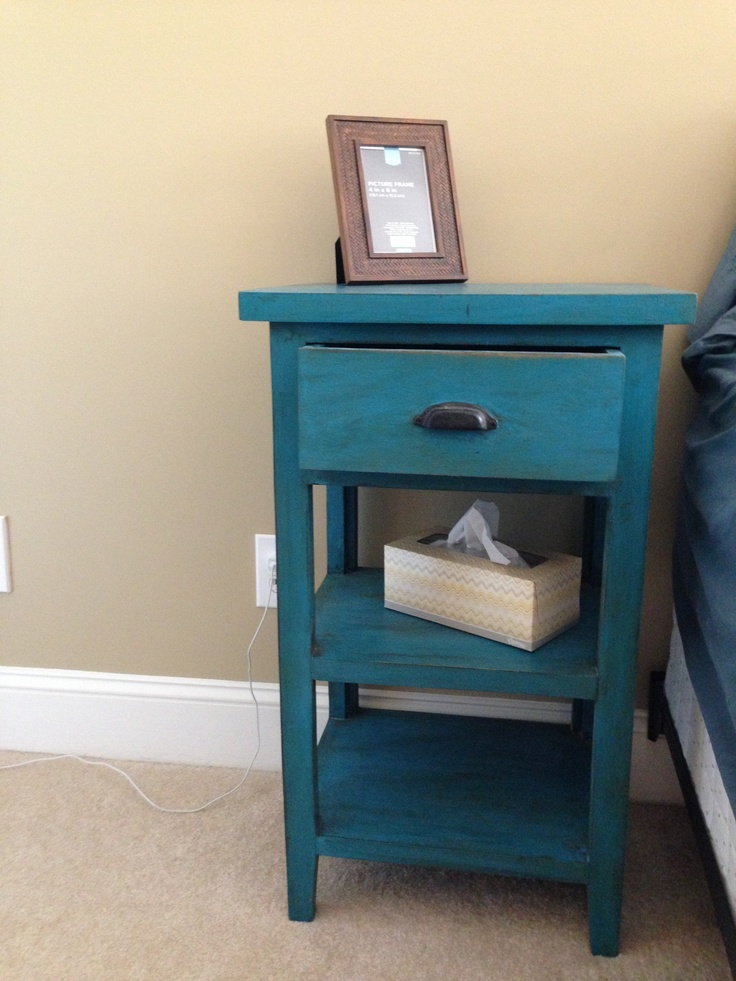 Nightstands - I like just one drawer and the rest open. Tallish skinny square