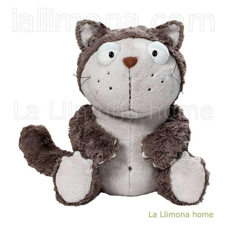 Nici peluches y complementos - Nici gato Lazy peluche 25