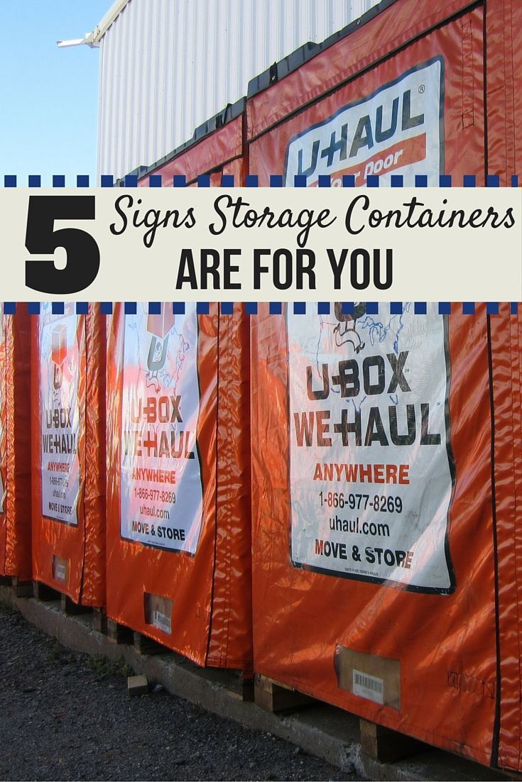 Whether you're headed to college, closing on your first house or preparing to move for your first day on the job, situations are unique. If renting a moving truck or trailer doesn't seem like the best option, check out these five signs that moving containers may be the right choice for you | Moving Insider Tips