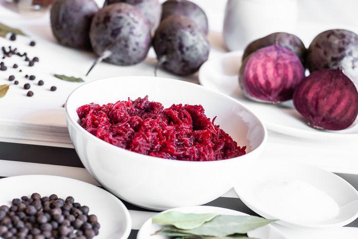 Tradycyjne buraczki - idealny dodatek do dań mięsnych. #burak #beet #kuchnia #Polska #tradycja #food #Poland #Żuławy