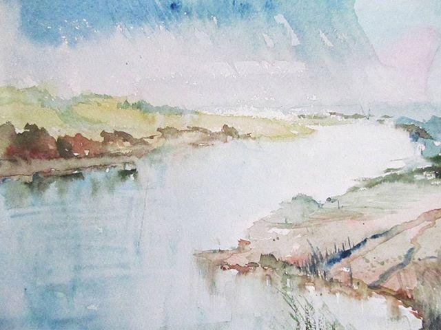 #absractdrawing #absractart #landscape #watercolor