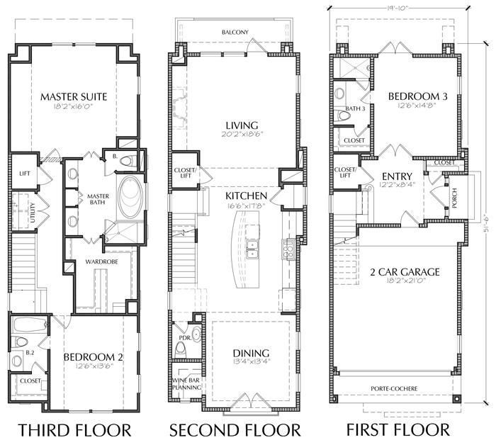 6 Pics Townhouses Floor Plans And Description Garage Floor Plans Floor Plans House Floor Plans