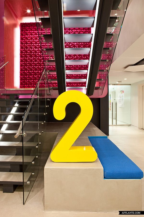Sesame Workshop offices, New York  designed by HLW International