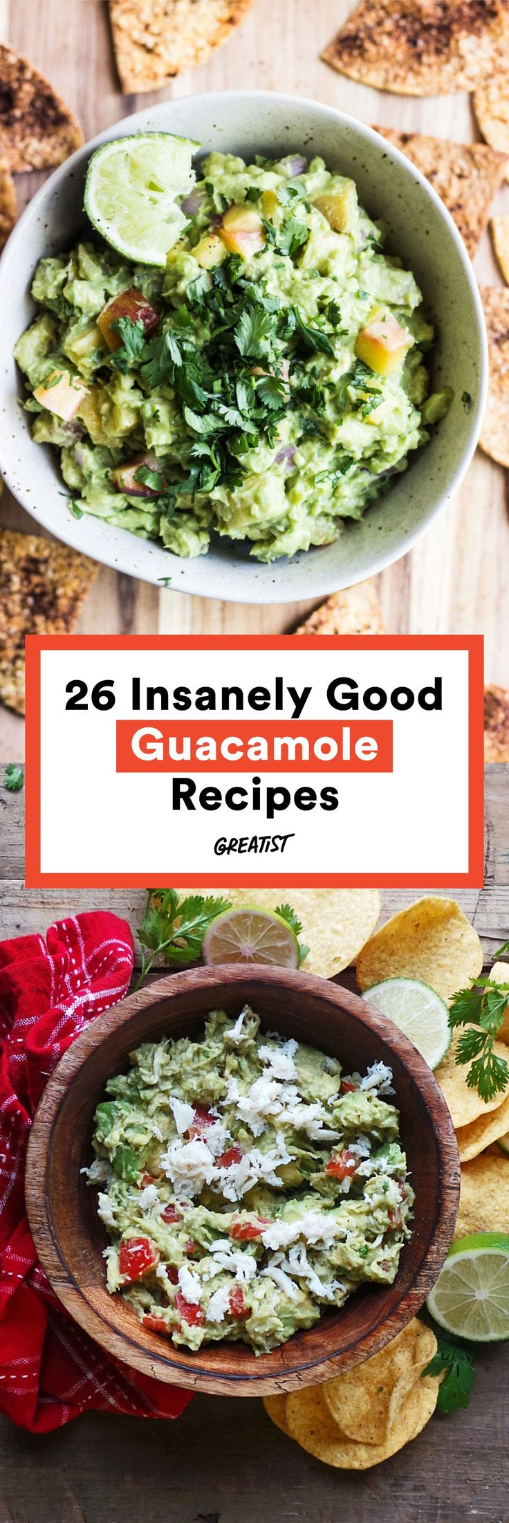 It's hard to imagine making guacamole even more delicious. #Greatist http://greatist.com/health/creative-healthy-guacamole-recipes